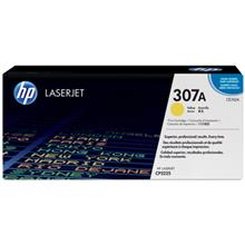 HP CE742A 307A Yellow LaserJet Toner Cartridge